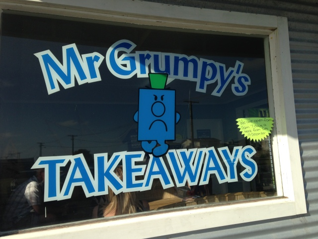 Reason enough to like Mr. Grumpy's.